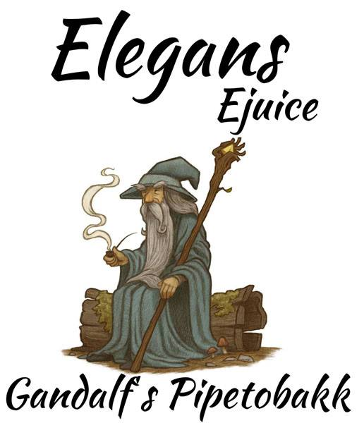 Bilde av Elegans - Gandalf´s Pipetobakk, Ejuice 500 ml