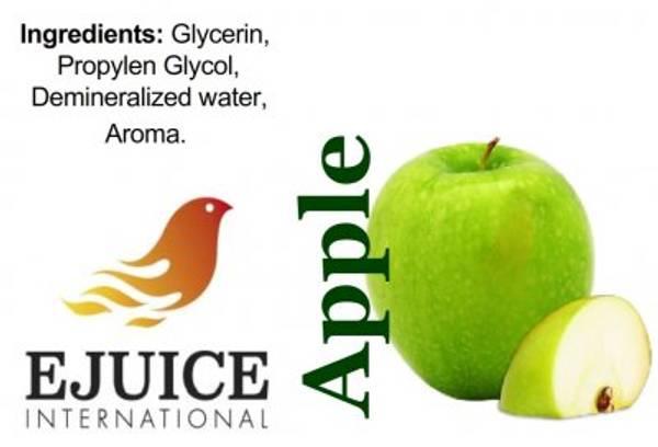 Bilde av Ejuice International - Apple, Ejuice 40/60 ml
