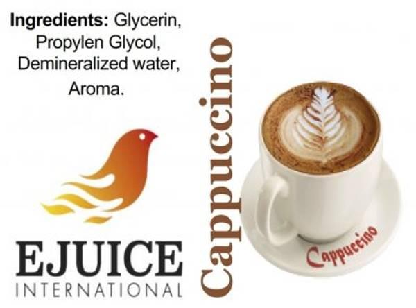 Bilde av Ejuice International - Cappuccino, Ejuice 40/60