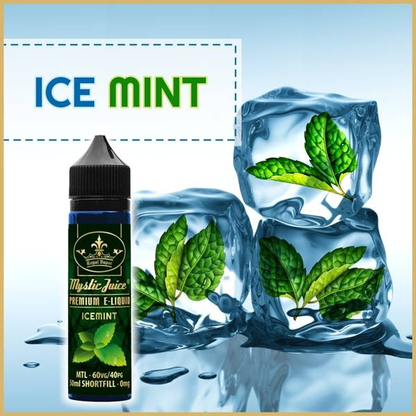 Bilde av Mystic Juice Icemint , Ejuice 50/60ml
