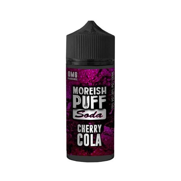 Bilde av Moreish Puff - Soda Cherry Cola, Ejuice 100/120