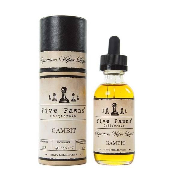 Bilde av Five Pawns - Gambit, Ejuice 50/60 ml